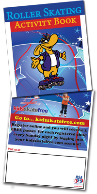 Book - Activity Books (Kids Skate Free) (#ACTKSF)